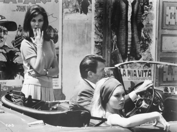 Georgia Moll, Jack Palance, Brigitte Bardot