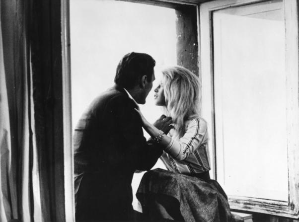 Jack Palance, Brigitte Bardot
