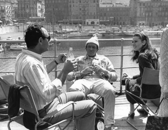 Stanley Donen, Albert Finney, Audrey Hepburn