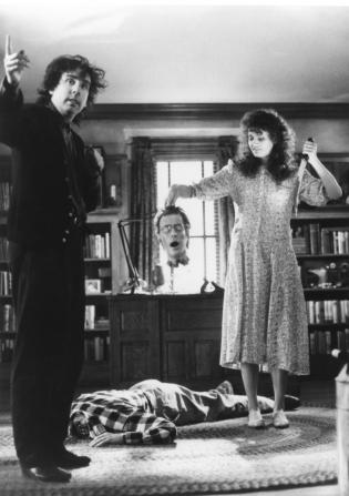 Tim Burton, Geena Davis