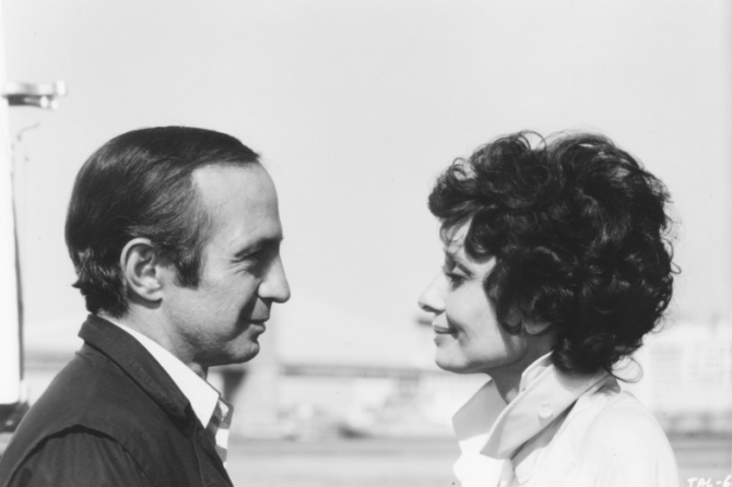 Ben Gazzara, Audrey Hepburn