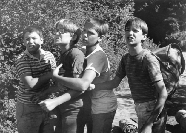 Jerry O'Connell, Corey Feldman, River Phoenix, Wil Wheaton