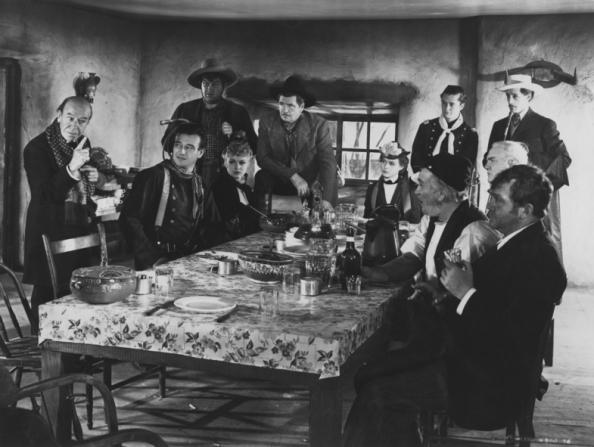 John Carradine, John Wayne