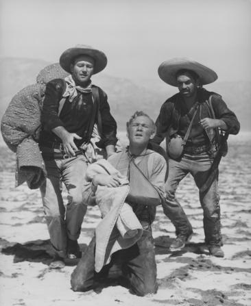 John Wayne, Pedro Armendáriz