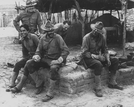 William Holden, Ernest Borgnine, Jaime Sanchez, Ben Johnson, Warren Oates