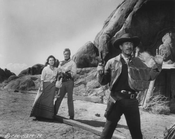 Randolph Scott, Richard Boone, Maureen O'sullivan
