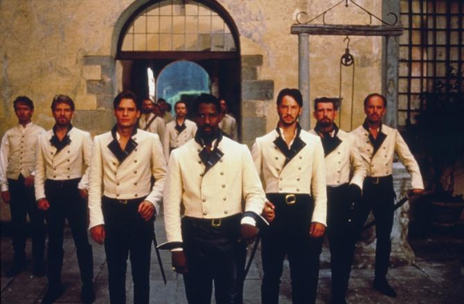 Kenneth Branagh, Robert Sean Leonard, Denzel Washington, Keanu Reeves