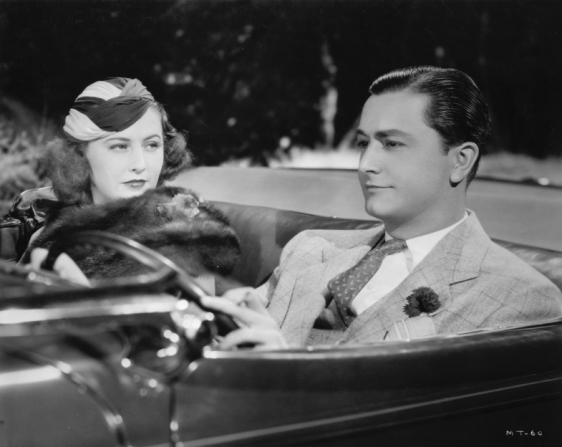 Barbara Stanwyck, Robert Young