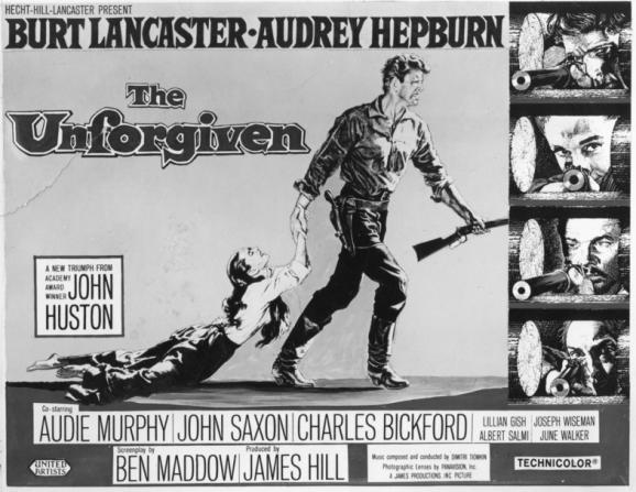 Audrey Hepburn, Burt Lancaster