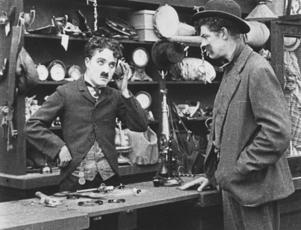 Charles Chaplin, Albert Austin