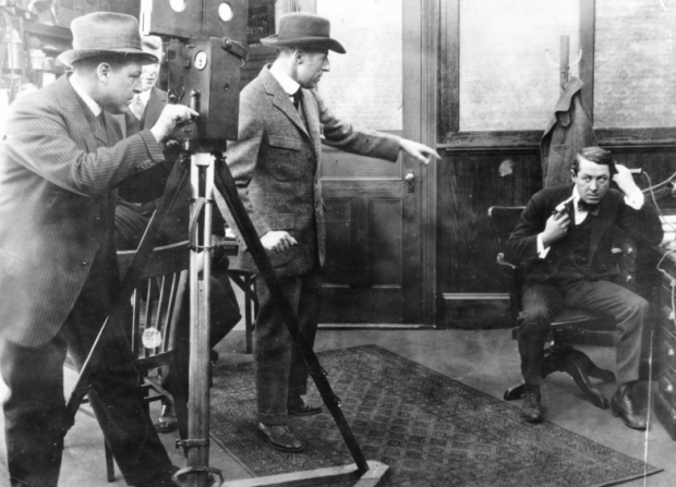 D.W. Griffith, Billy Bitzer, Henry B. Walthall