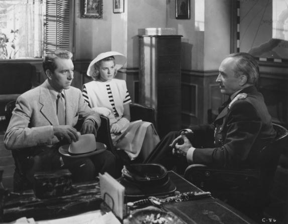 Ingrid Bergman, Conrad Veidt, Paul Henreid
