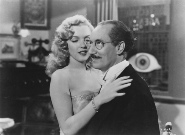 Marilyn Monroe, Groucho Marx