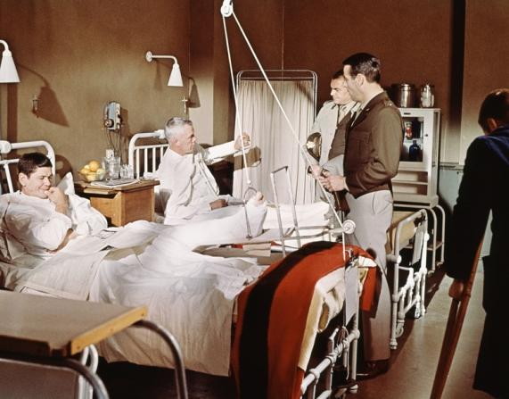 Charles Bronson, Lee Marvin, Ernest Borgnine