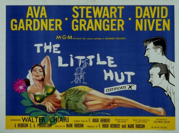 Ava Gardner, Stewart Granger, David Niven