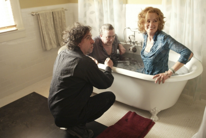 Tim Burton, Albert Finney, Jessica Lange