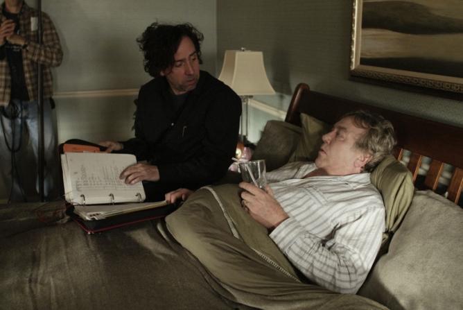 Tim Burton, Albert Finney