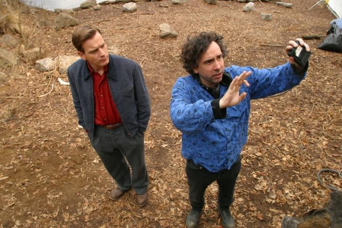 Ewan McGregor, Tim Burton