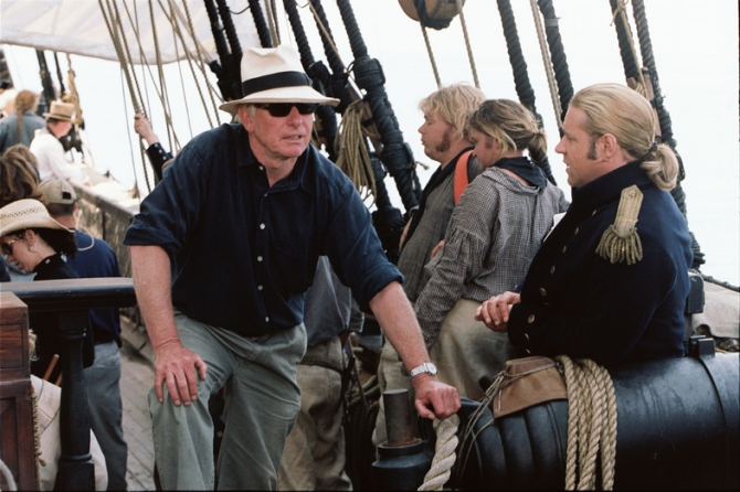 Peter Weir, Russell Crowe
