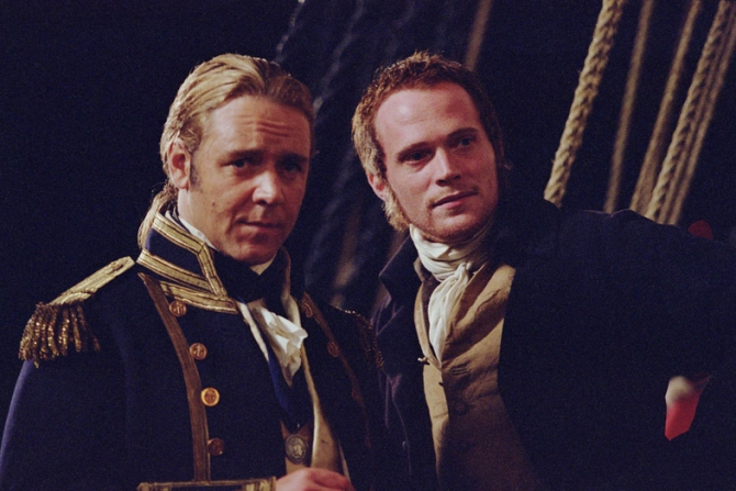 Russell Crowe, Paul Bettany