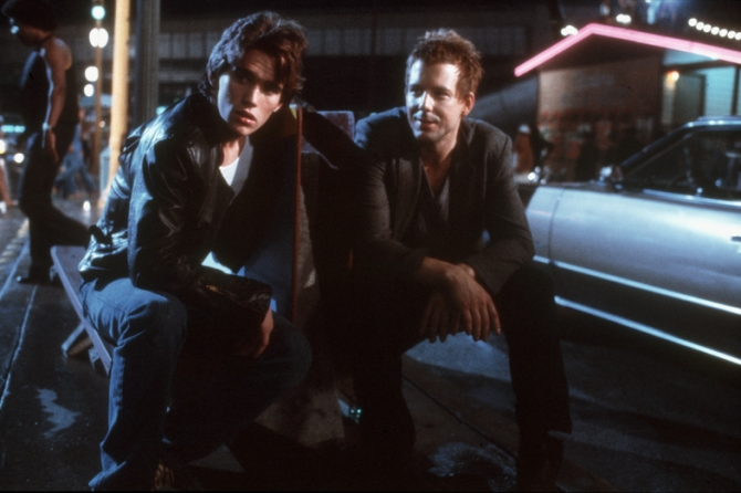 Matt Dillon, Mickey Rourke
