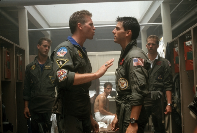 Val Kilmer, Tom Cruise