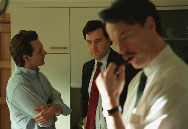 Michael Sheen, David Morrissey, Paul Rhys