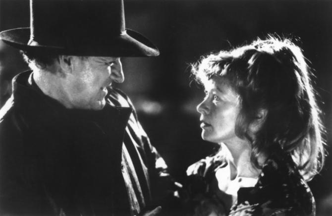 Gene Hackman, Frances Fisher