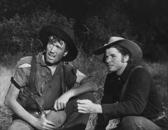 Audie Murphy, John Huston