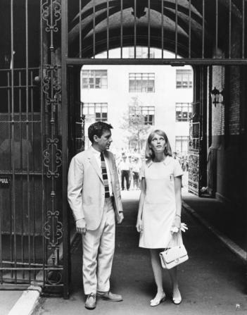John Cassavetes, Mia Farrow