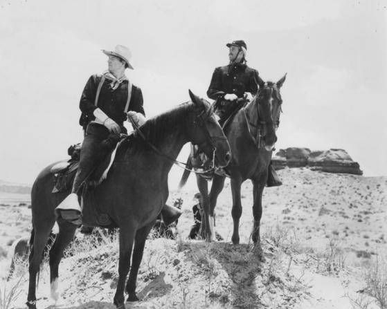 John Wayne, Henry Fonda