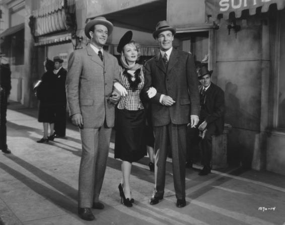 John Wayne, Marlene Dietrich, Randolph Scott