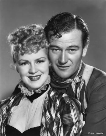 Claire Trevor, John Wayne