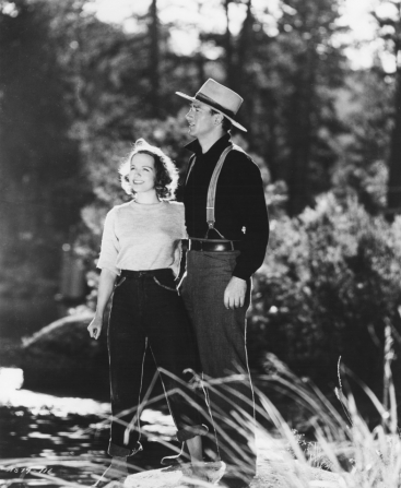 Betty Field, John Wayne