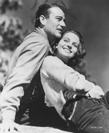 John Wayne, Betty Field