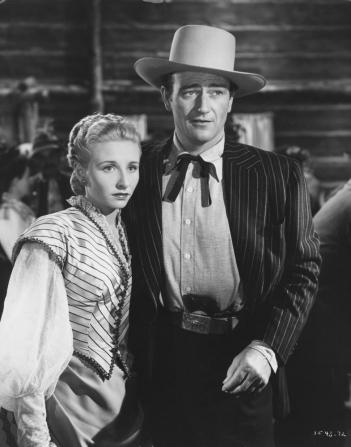 Vera Hruba Ralston, John Wayne