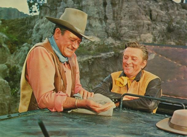 John Wayne, Kirk Douglas