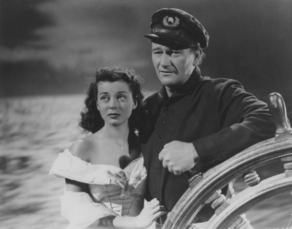 Gail Russell, John Wayne