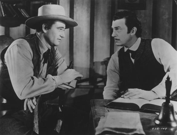 Walter Pidgeon, John Wayne