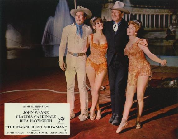 Claudia Cardinale, John Wayne