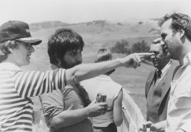 Steven Spielberg, Frank Marshall, Tobe Hooper