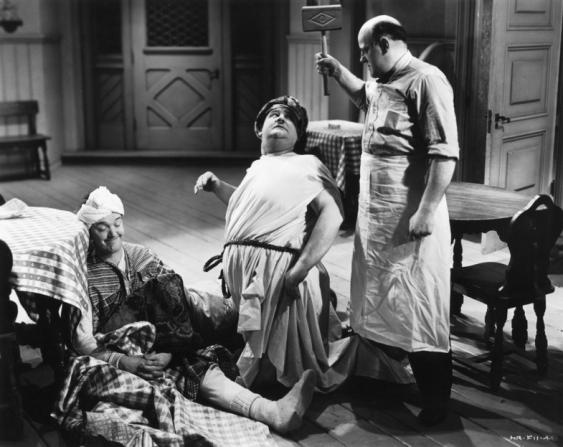 Stan Laurel, Oliver Hardy, James C. Morton