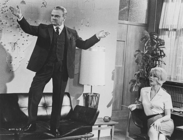James Cagney, Liselotte Pulver
