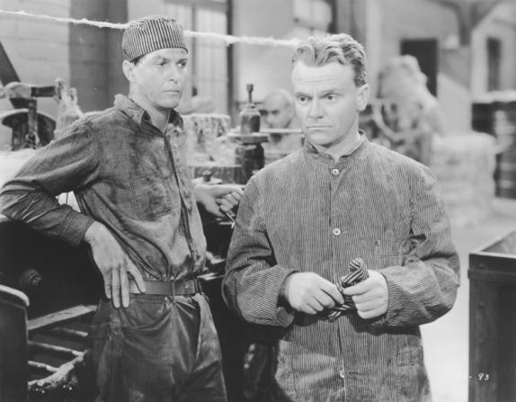 Alan Baxter, James Cagney
