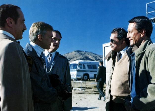 Roy Scheider, Warren Oates, Malcolm McDowell