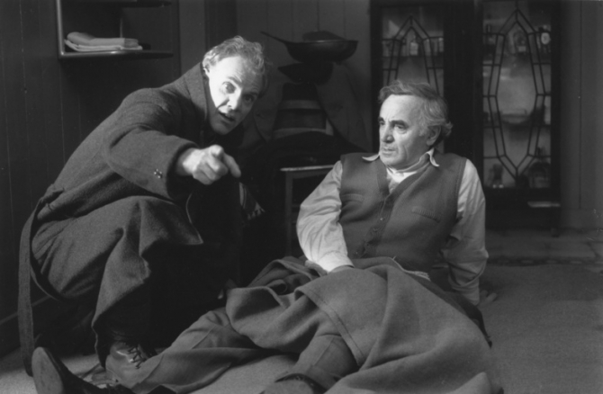 Malcolm McDowell, Charles Aznavour