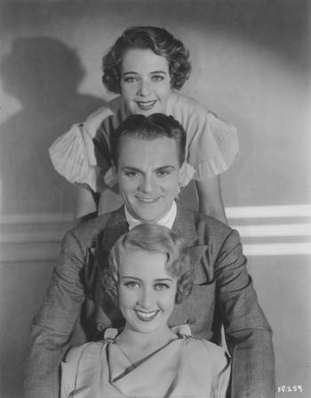 Ruby Keeler, James Cagney, Joan Blondell