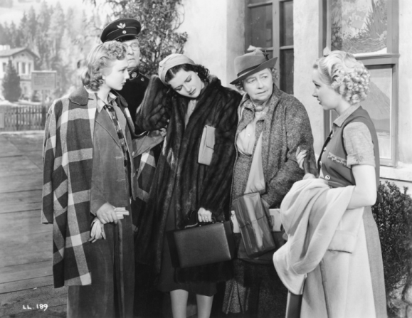 Googie Withers, Margaret Lockwood, Dame May Whitty, Sally Stewart