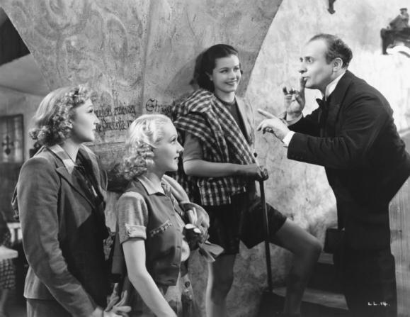 Googie Withers, Margaret Lockwood, Emile Boreo, Sally Stewart