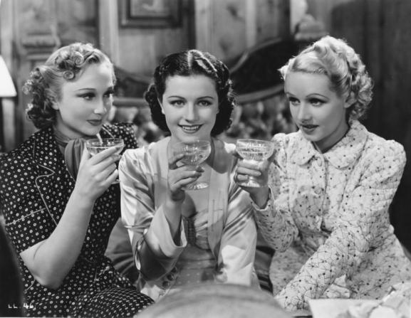 Googie Withers, Margaret Lockwood, Sally Stewart
